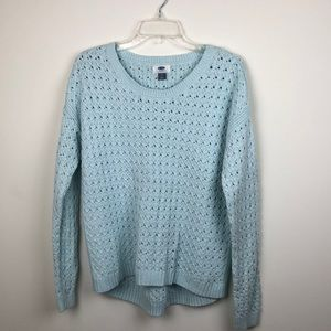 Cozy Blue Old Navy Sweater